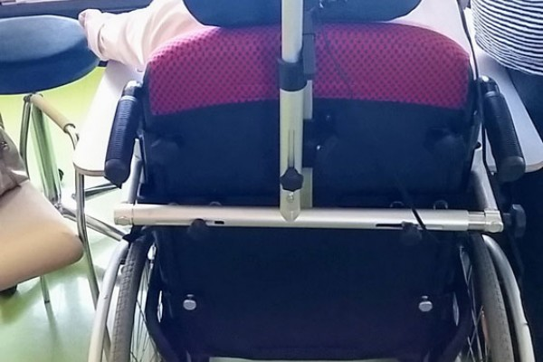 Stojalo na vozičku